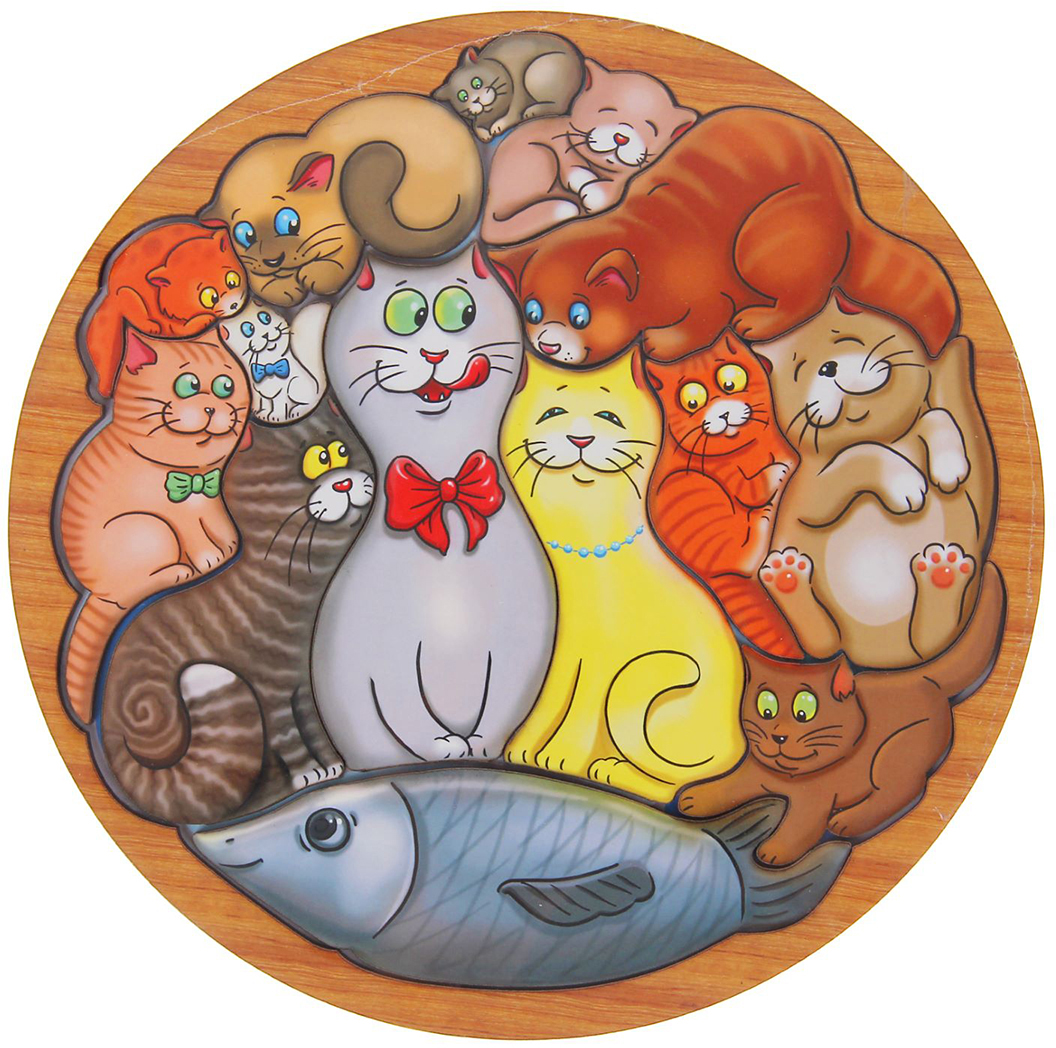 Красивые круглые картинки с животными