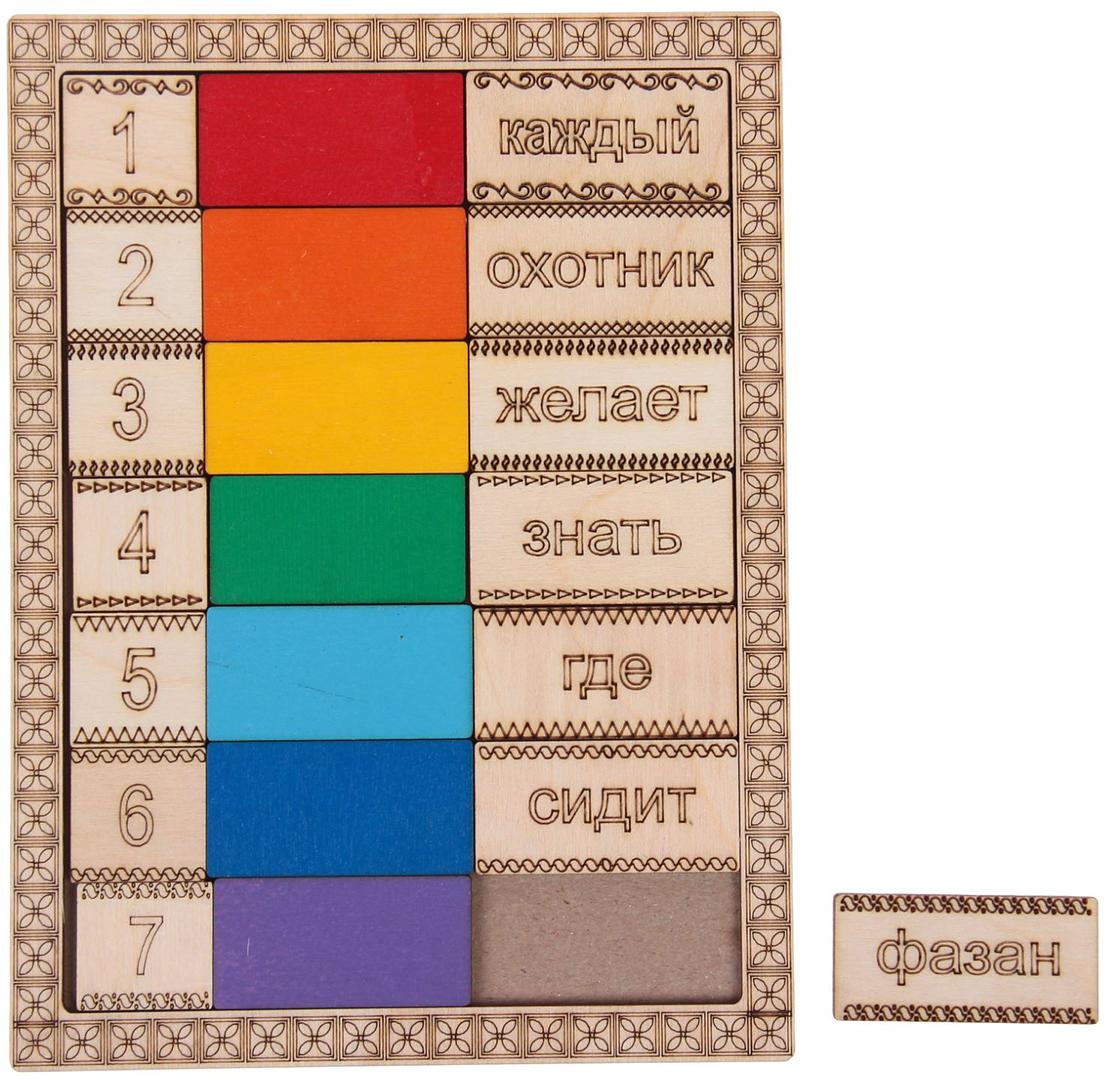 Smile Decor Обучающая игра Обучающий планшет Цвета радуги все цены