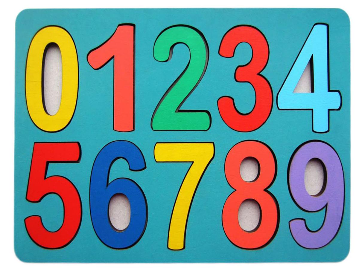 Smile Decor Обучающая игра Рамки-вкладыши Цифры Макси головоломка smile decor рамки вкладыши геометрические фигуры микс 1355515