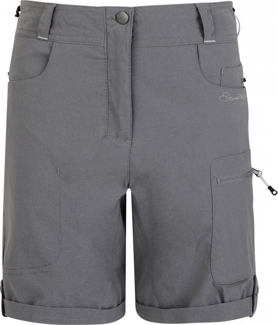 "Велошорты женские Dare 2b ""Melodic Short"", цвет: серый. DWJ336-65G. Размер 8 (40/42)"