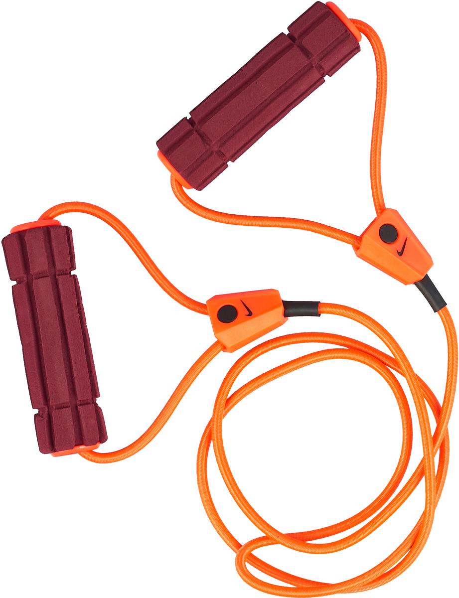 Эспандер Nike, цвет: красный, бордовый, черный.N.ER.17.691.NS эспандер nike long length medium resistance n er 17 756 ns