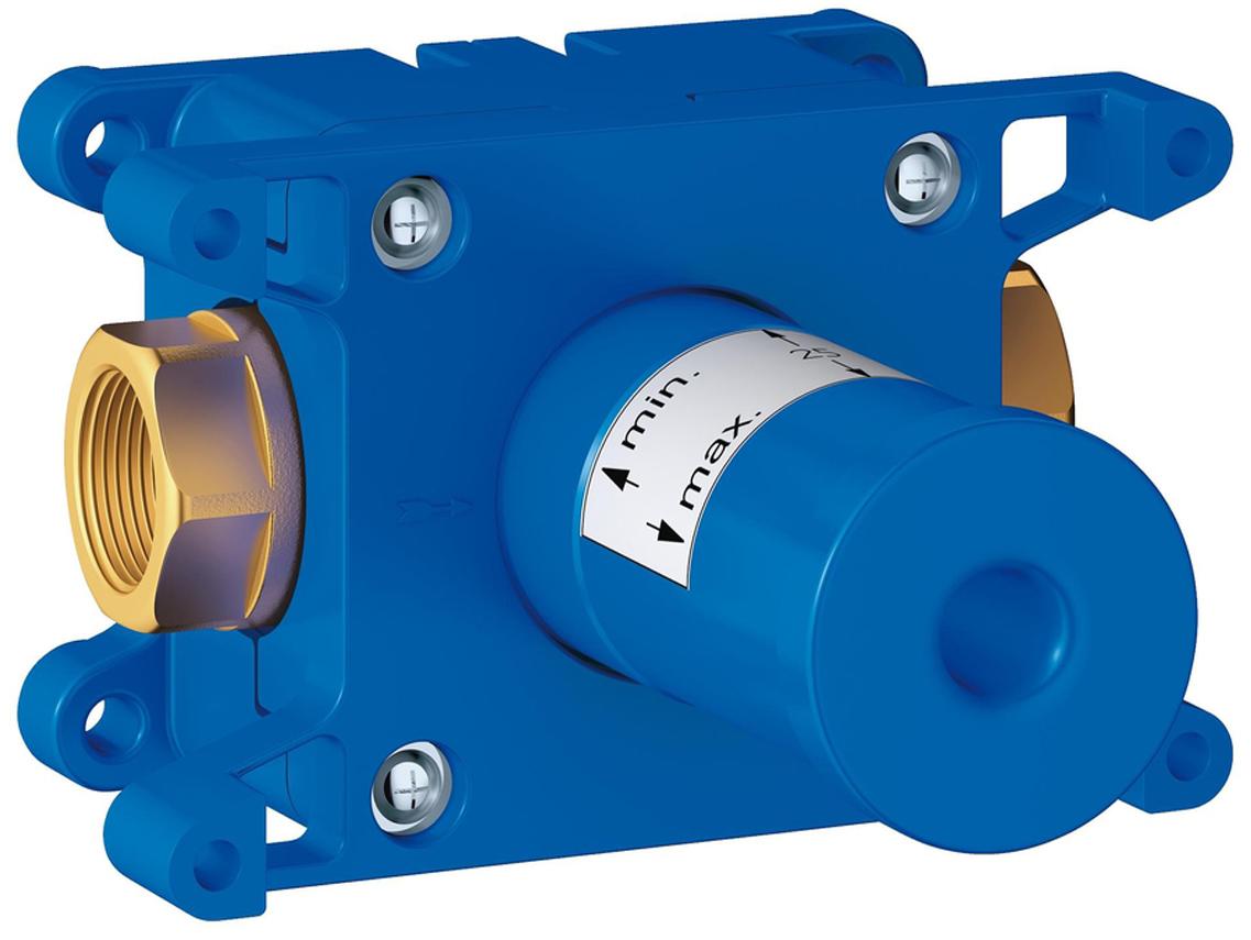 Вентиль встраиваемый GROHE Rapido C, на 1 выход. 35028000 встраиваемый вентиль на три выхода grohe rapido c 35031000