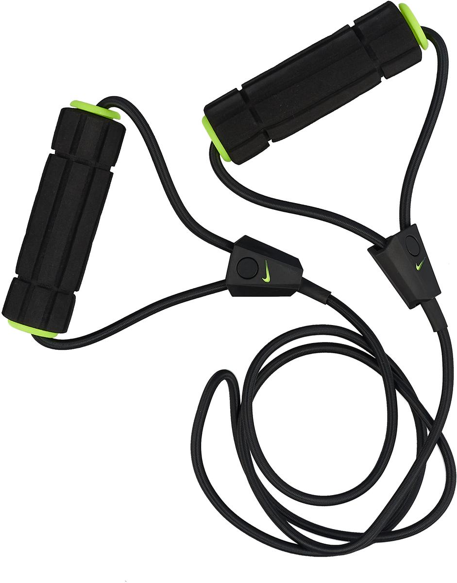 Эспандер Nike, цвет: желтый, черный. N.ER.17.756.NS эспандер nike long length medium resistance n er 17 756 ns
