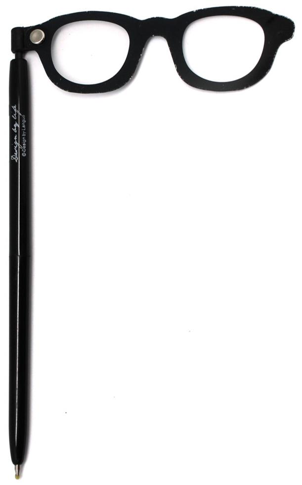 Фото - Еж-стайл Ручка гелевая For fun Очки цвет чернил черный ручка гелевая action стираемые черные чернила блистер с европодвесом