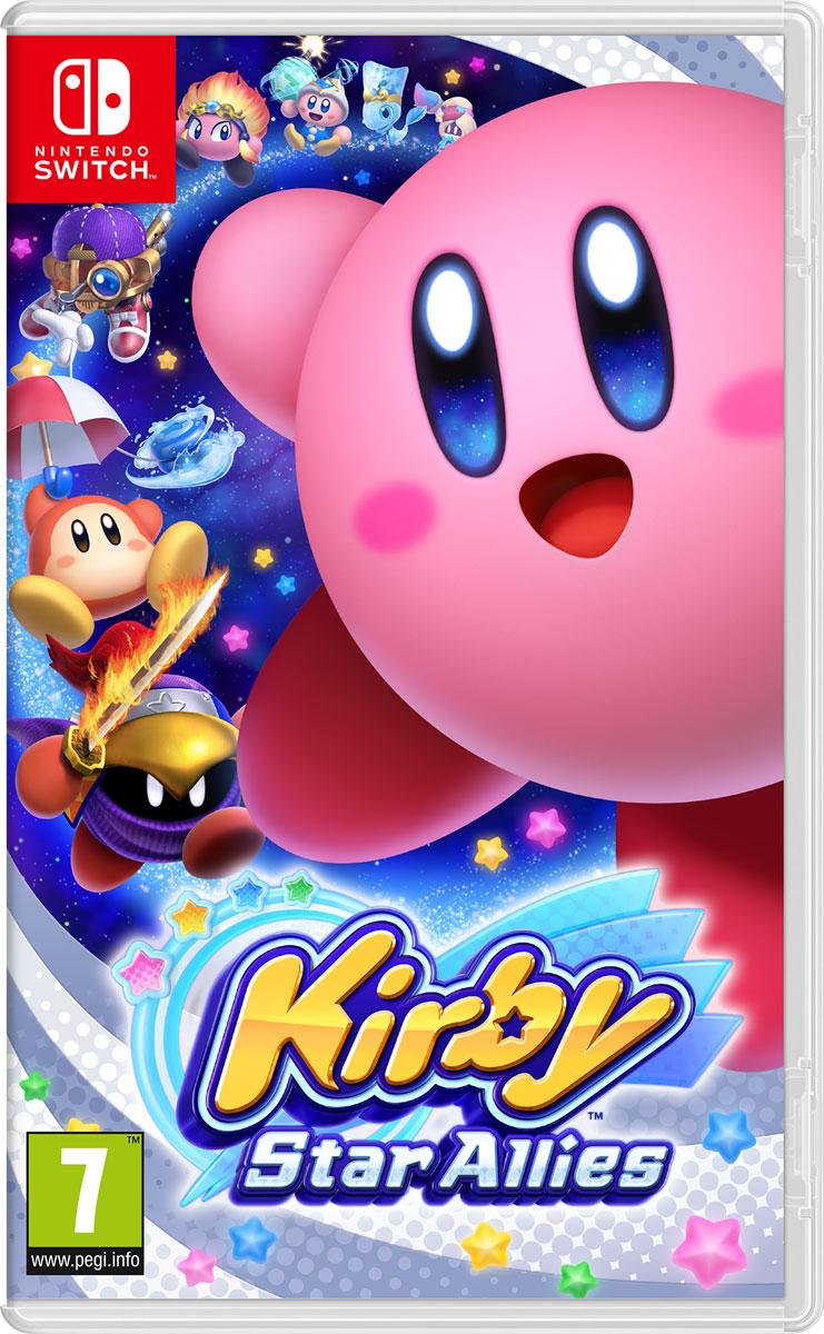 Kirby Star Allies (Nintendo Switch) геймпад nintendo switch pro controller
