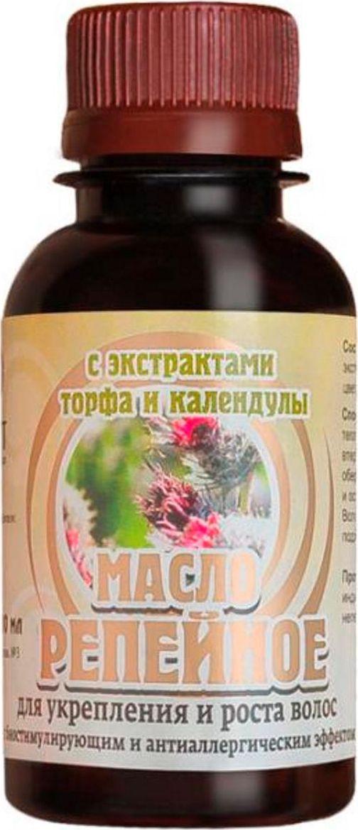 Биолит Репейное масло с экстрактами торфа и календулы 100 мл Биолит