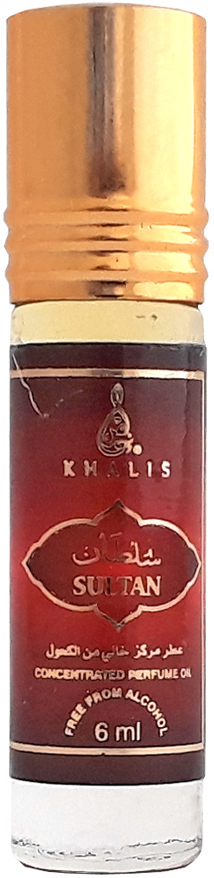 Khalis 6 мл khalis rolline red rose духи 6 мл
