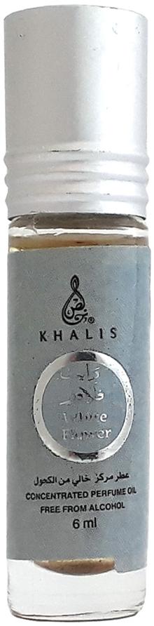 Khalis Rolline White Flower Духи, 6 мл khalis rolline red rose духи 6 мл