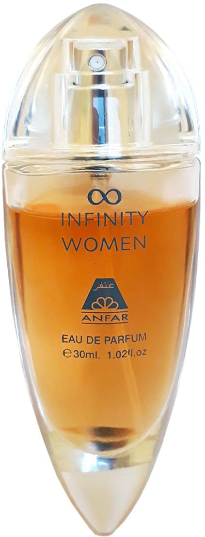 Anfar Infinity Women 30 мл anfar kefaya ashoufak парфюмерная вода 20 мл