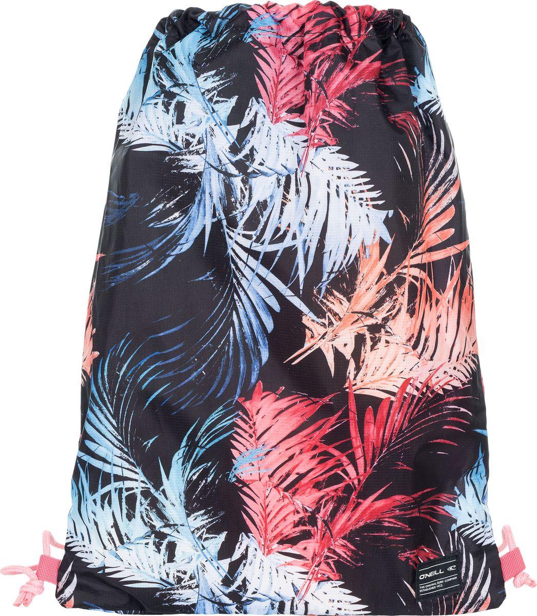 Рюкзак для обуви мужской O'Neill Bm Photoprint Gymsack Листья, цвет: мультиколор. 8A4017-9940 рюкзак мешок nike fb gymsack 3 0 ba5094 435