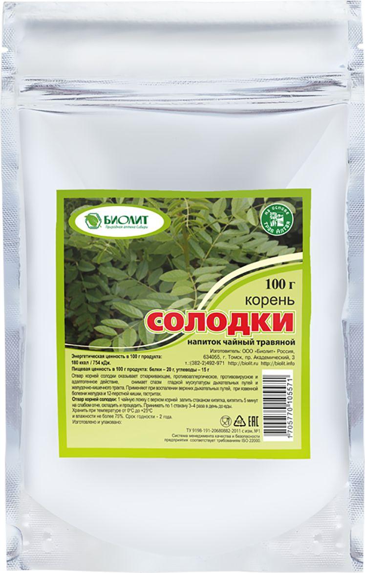 Биолит Корень солодки трава, 100 г все цены