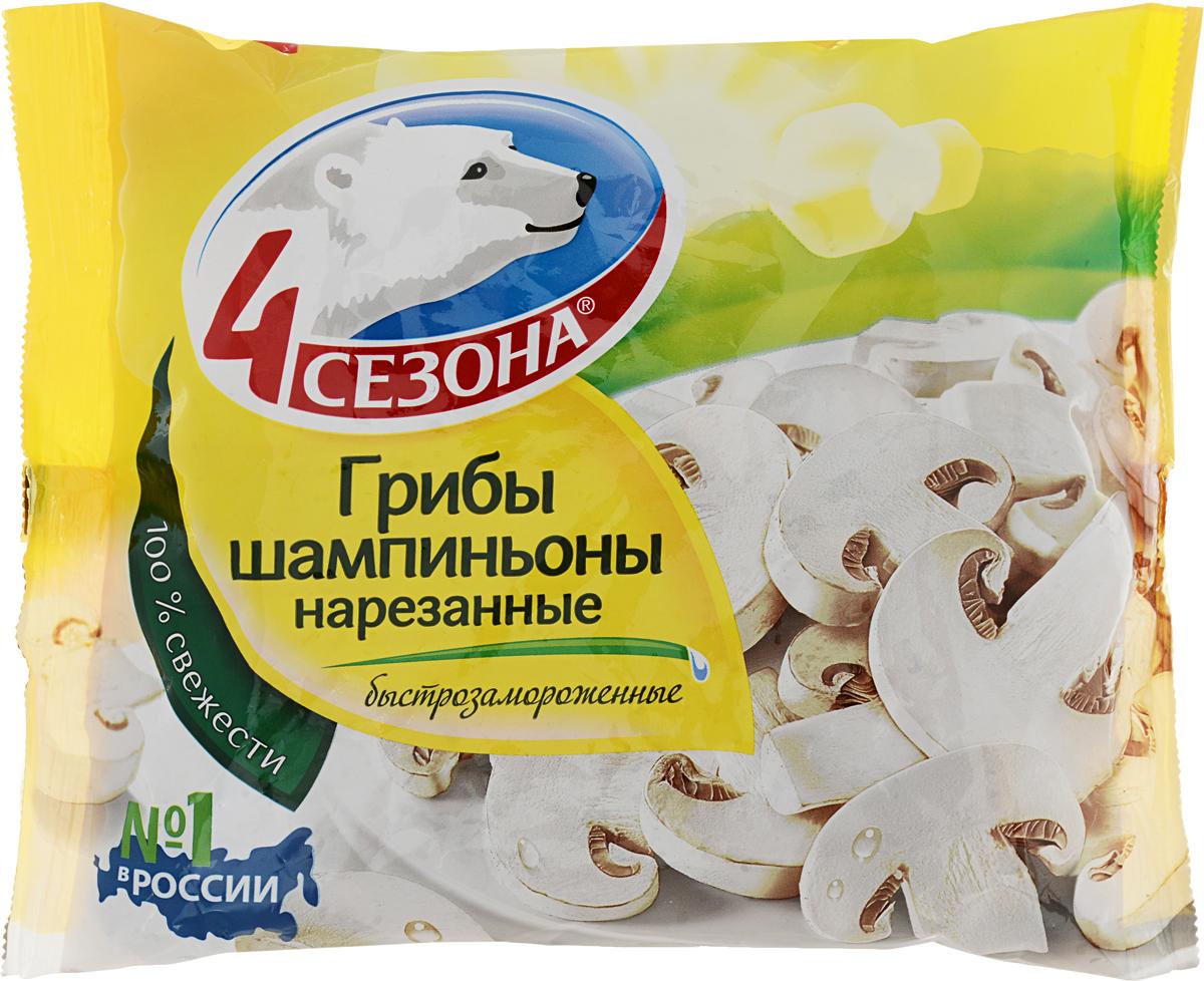 Фото - 4 Сезона Шампиньоны нарезанные, 400 г 4 сезона грибы с картошкой 400 г