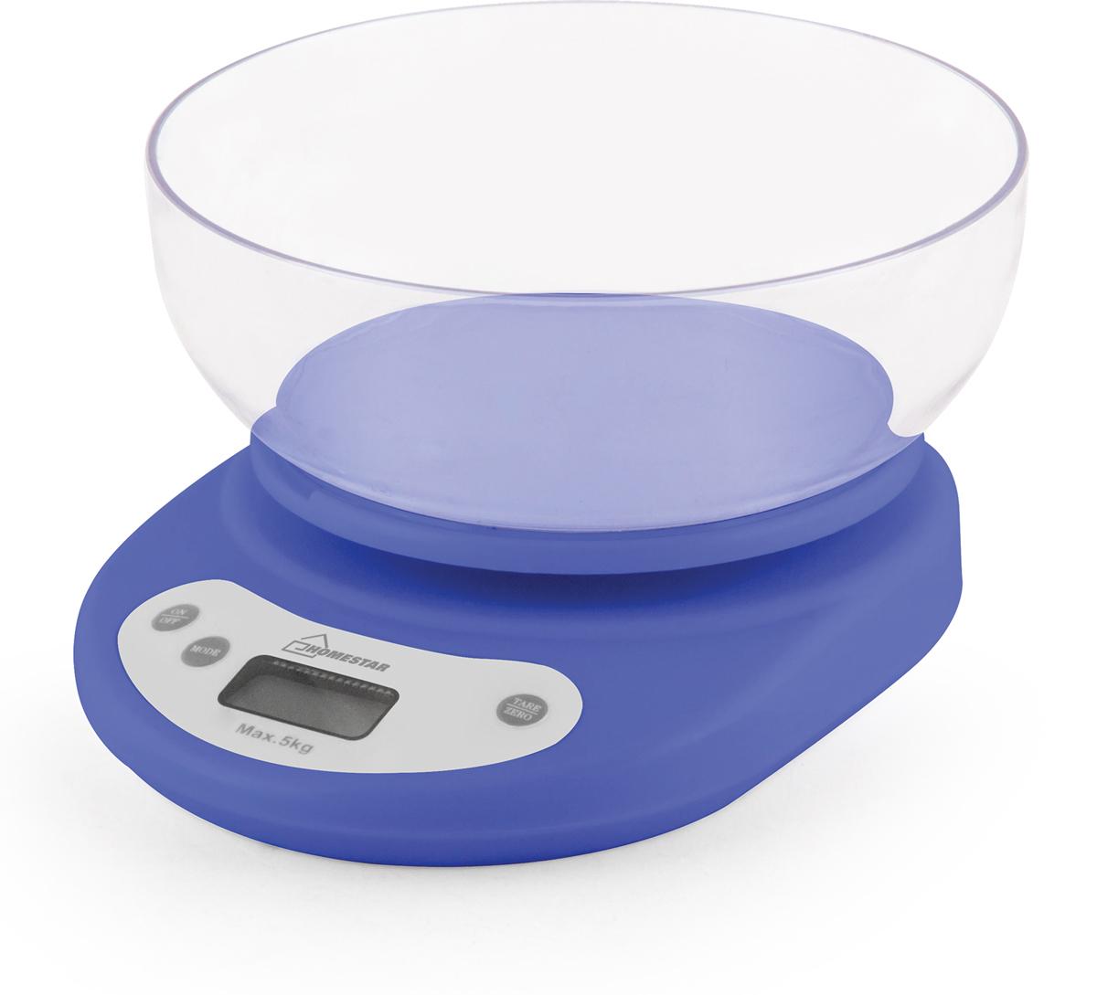 Кухонные весы HomeStar HS-3001, Lilac весы homestar hs 3001