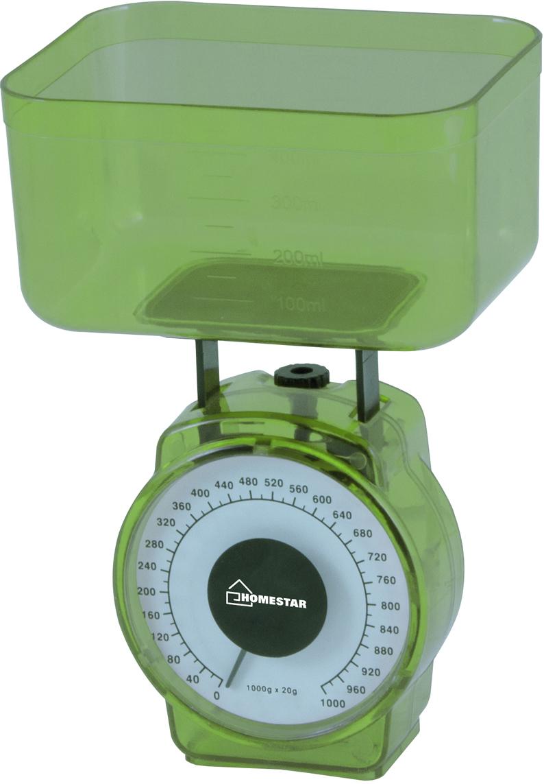 Кухонные весы HomeStar HS-3004М, Green HomeStar