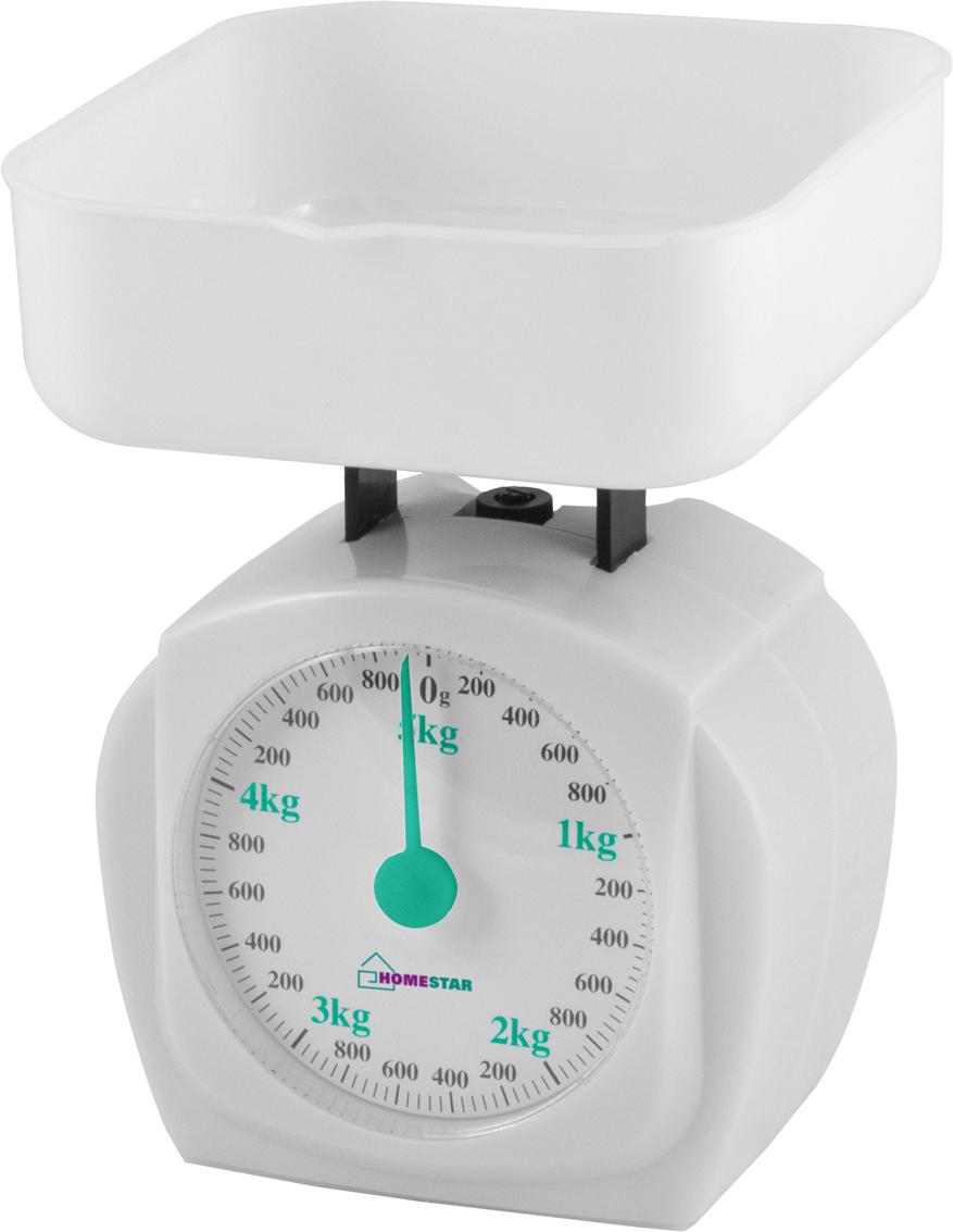 HomeStar HS-3005М, White кухонные весы кухонные весы homestar hs 3002 brown