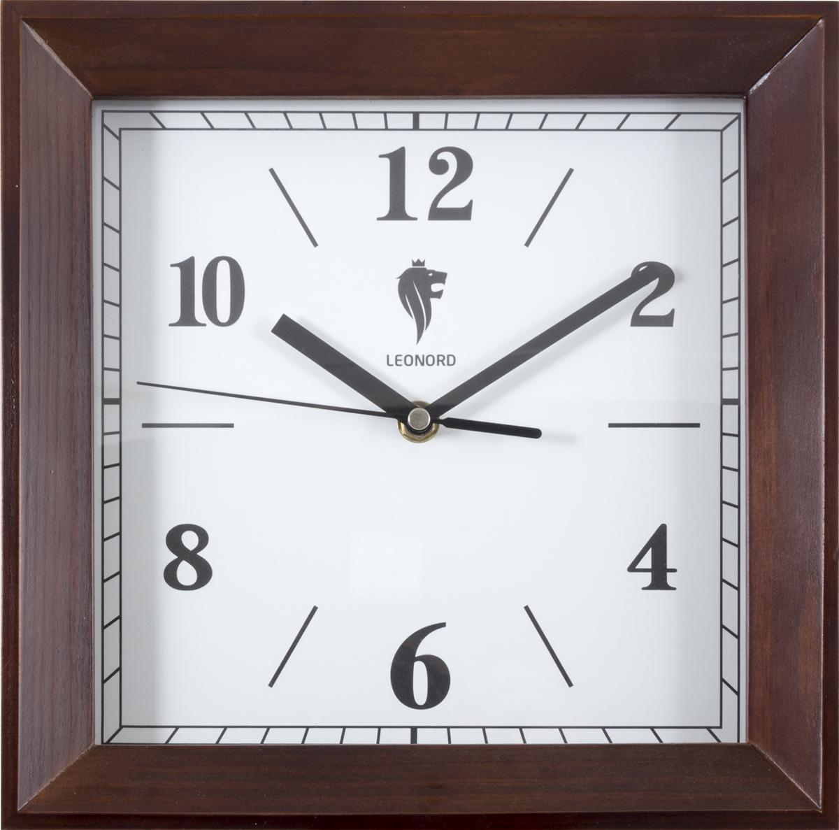 Настенные часы Leonord leonord терка leo gr 228b с контейнером и крышкой leonord черный