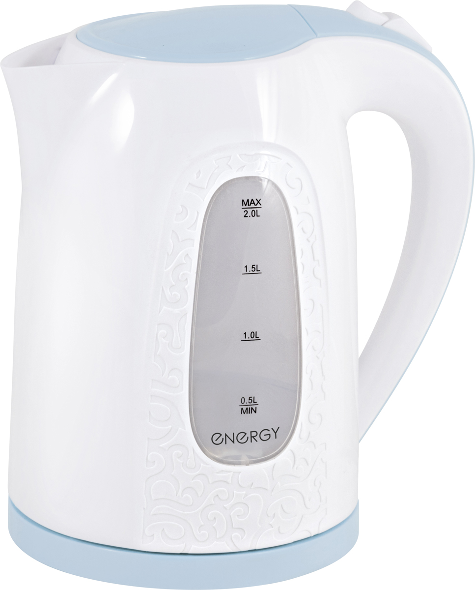 лучшая цена Электрический чайник Energy E-236, White Light Blue