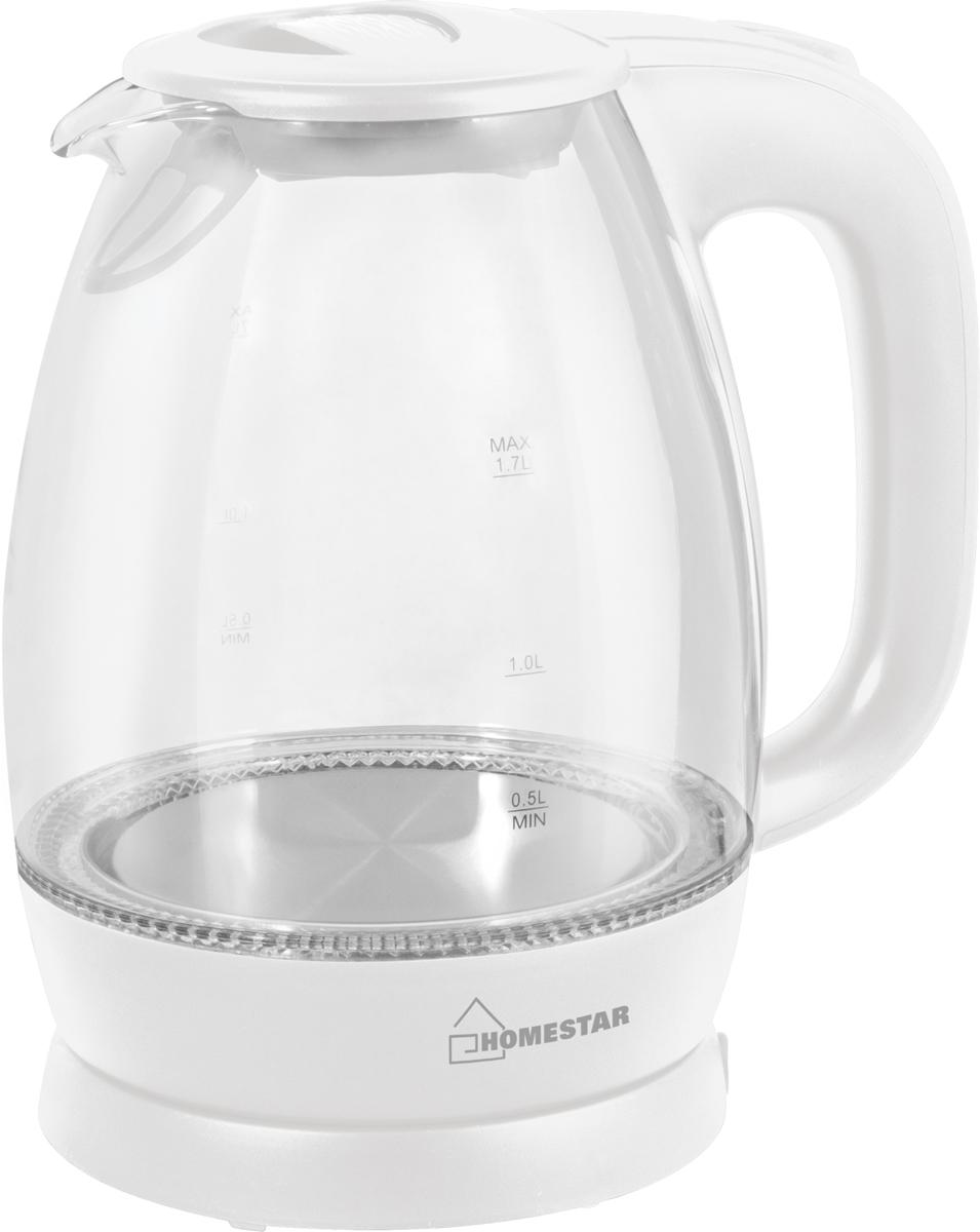 HomeStar HS-1012, White электрический чайник цена