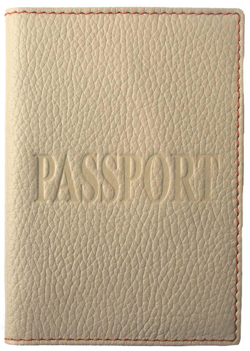 Обложка для паспорта женская Dimanche, цвет: молочный, бежевый. 230/38/51 цена