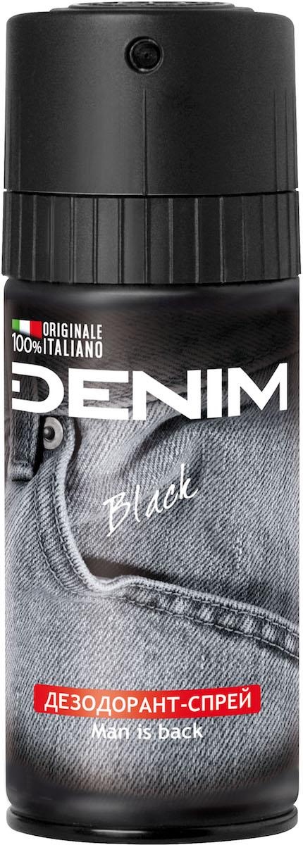 Denim Дезодорант-спрей Black, 150 мл