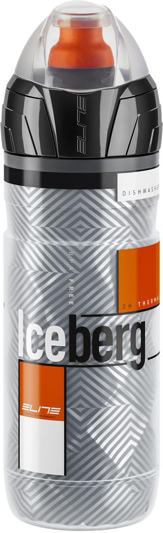 Фляга Elite Iceberg, цвет: оранжевый, 500 мл