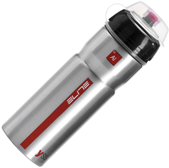 Фляга Elite Syssa, цвет: серебряный глянец, 750 мл фляга сплав hr c 750 мл