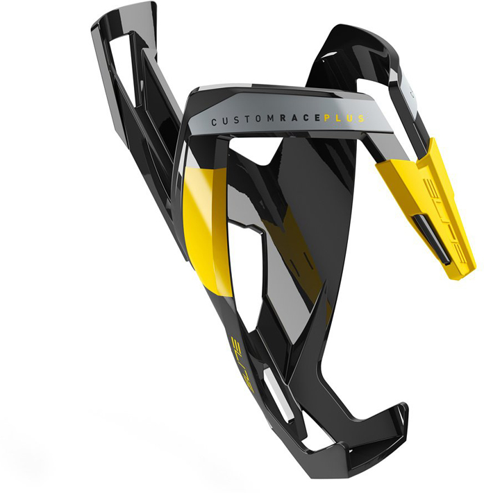 Флягодержатель Elite Custom Race Plus, цвет: черный, желтый цена