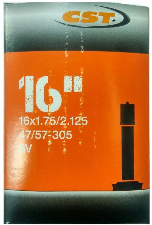 Велокамера CST Schrader, 16 x 1.75/2.125 цена