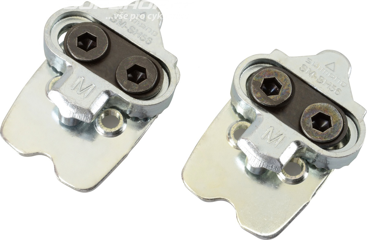Шипы Shimano SH56, SPD, Multiple release педали shimano t400 spd click r с шипами sh56 цвет белый