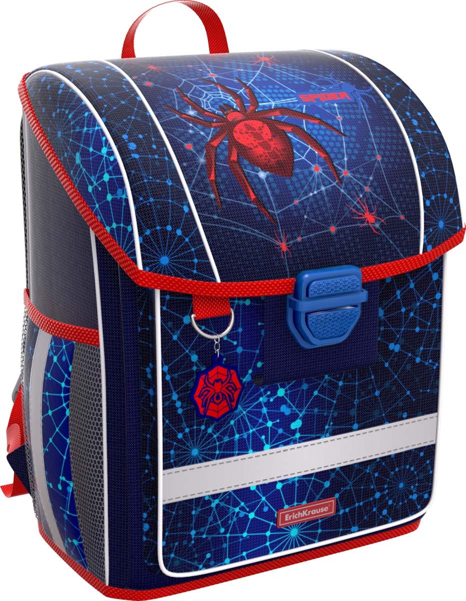 6b774b1fb793 Erich Krause Ранец школьный ErgoLine Spider — купить в интернет-магазине  OZON.ru с быстрой доставкой