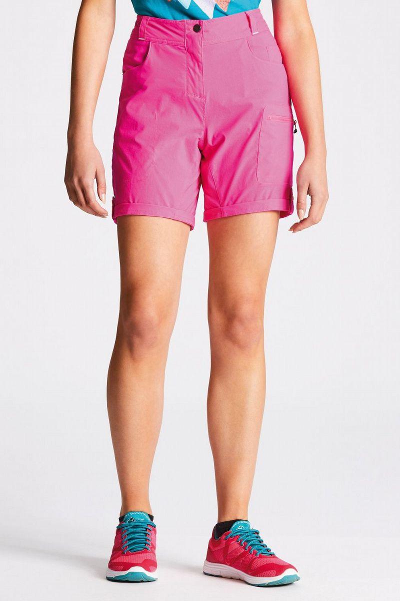 Велошорты женские Dare 2b Melodic Short, цвет: розовый. DWJ336-887. Размер 14 (46/48) шорты женские puma ignite short tight w цвет черный 51668403 размер l 46 48
