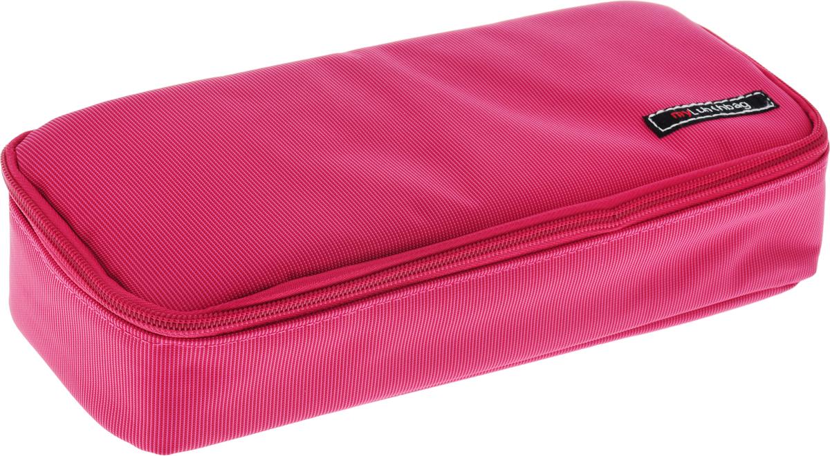 Термо ланч-бокс Iris SNACK XL. MyLunchbag, без контейнеров, цвет: розовый термосумка для ланч бокса iris barcelona basic mylunchbag цвет оранжевый