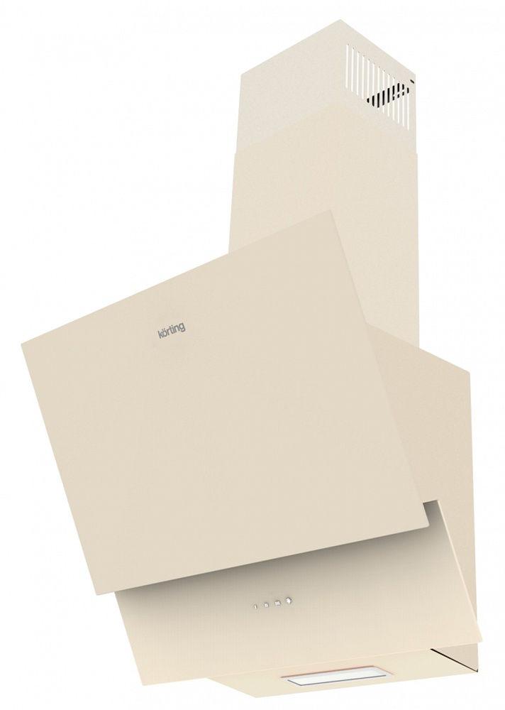 Korting KHC 65070 GB, Beigeвытяжка наклонная Korting