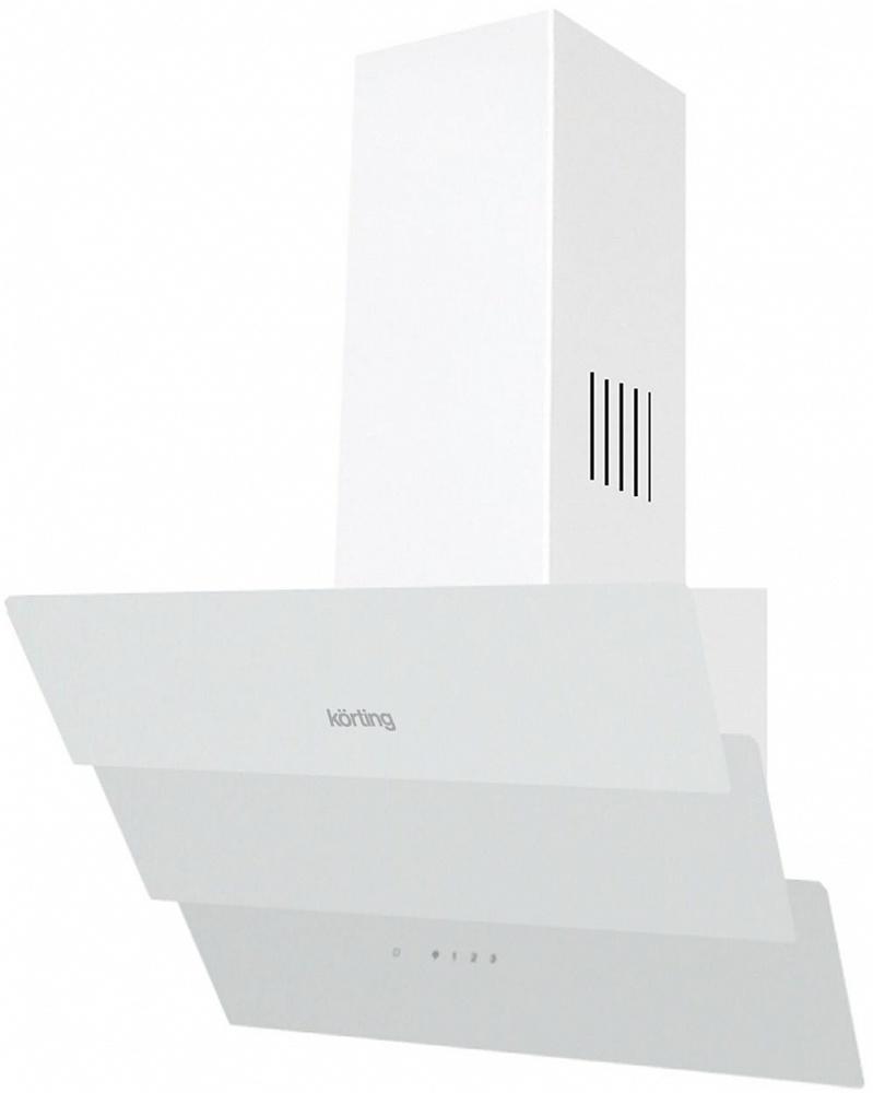 Вытяжка Korting KHC 66073 GW, White, наклонная Korting