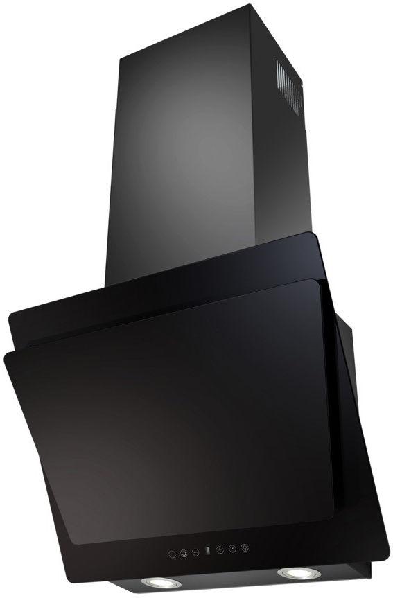 Вытяжка Korting KHC 67070 GN, Black, наклонная вытяжка korting khc 97070 gn black наклонная