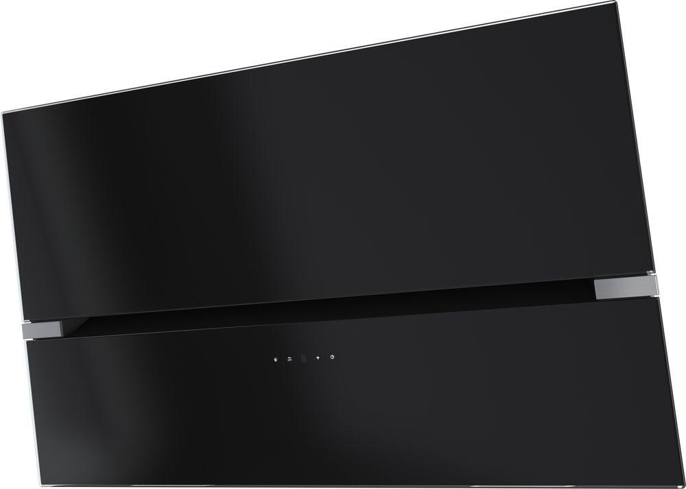 Вытяжка Korting KHC 69080 GN, Black, наклонная вытяжка korting khc 97070 gn black наклонная
