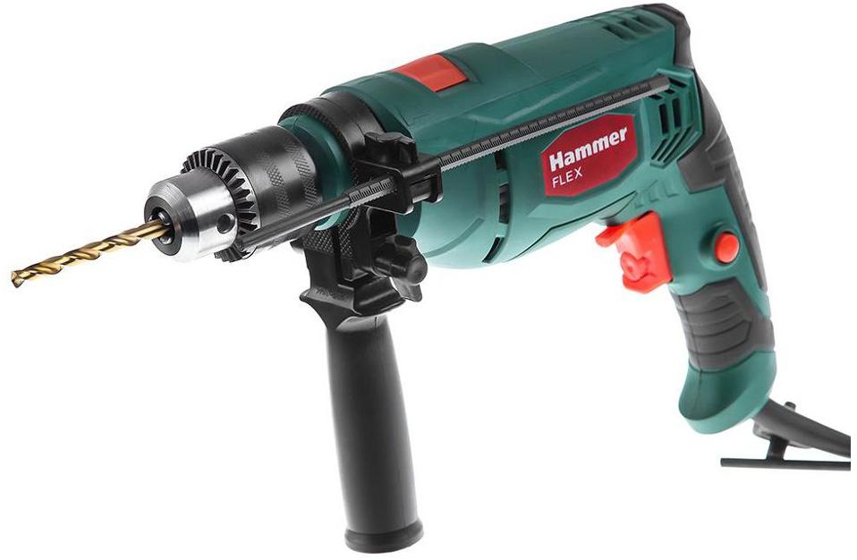 цена на Дрель ударная Hammer Flex UDD650LE, 650 Вт