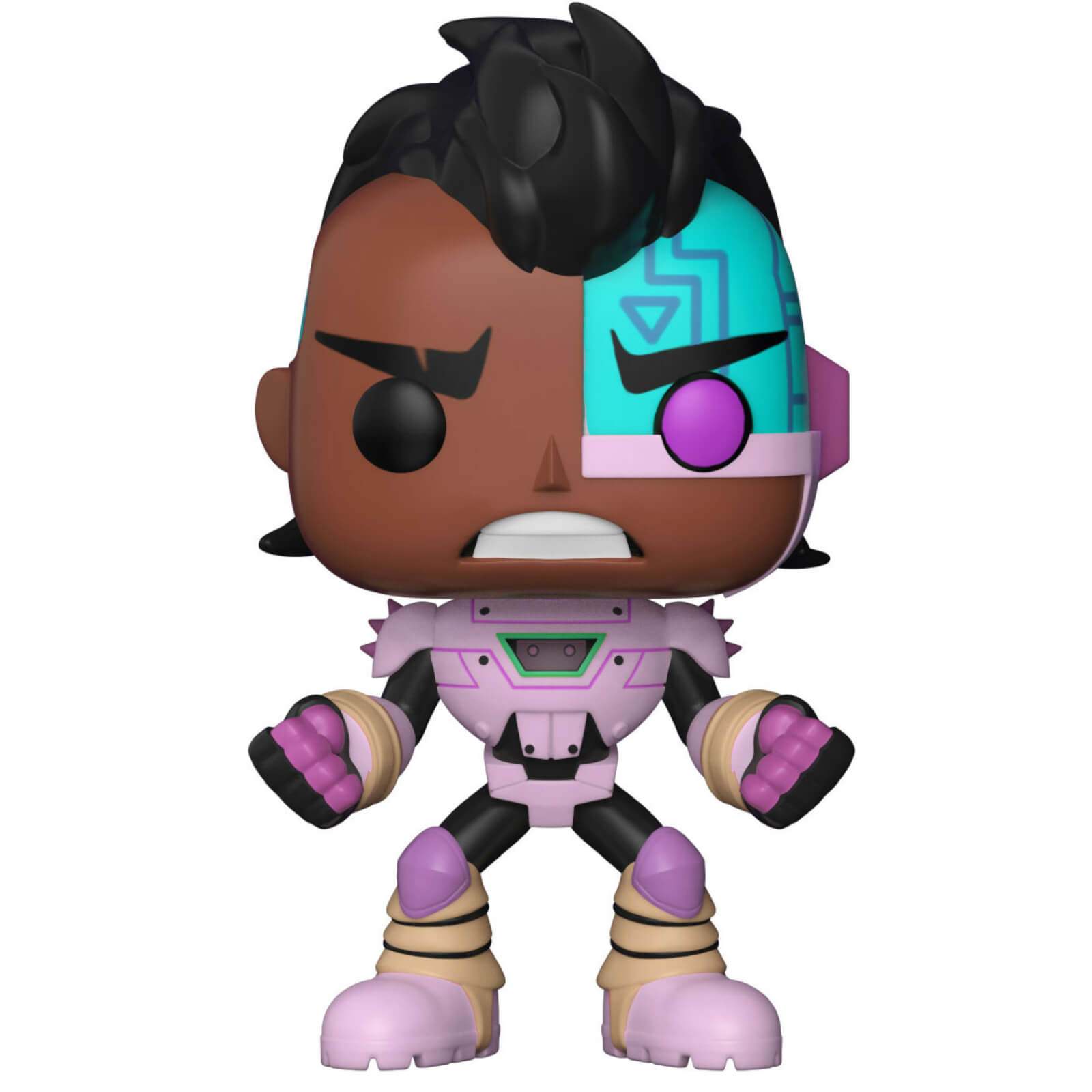 Funko POP! Vinyl Фигурка Teen Titans Go: the Night Begins To Shine: Cyborg trivial pursuit pop culture 2 to go