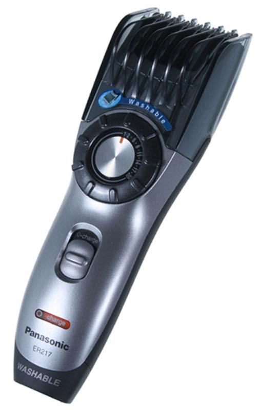 Panasonic ER-217S520 машинка для стрижки машинка для стрижки волос panasonic er gy10cm520