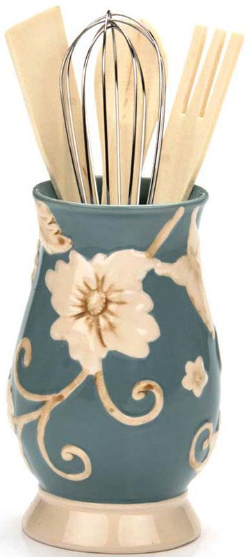 """Набор кухонных аксессуаров """"Loraine"""", цвет: голубой, 5 предметов. 22447-1"""