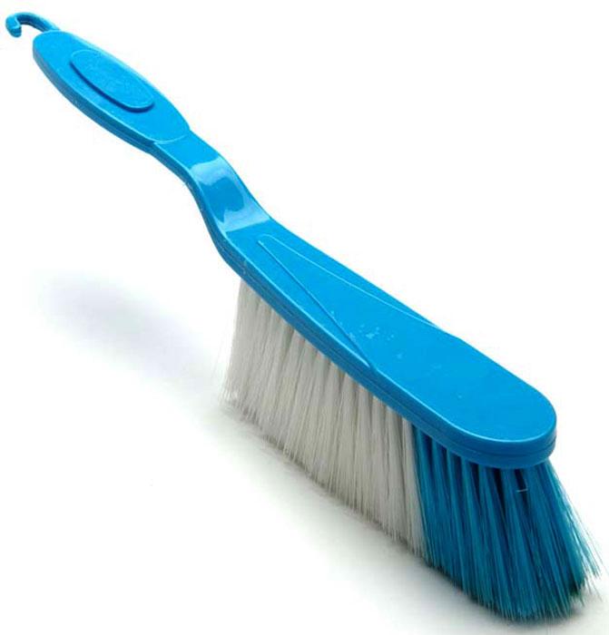 Щетка универсальная Super Kristal, с ручкой, цвет: синий. 3487-2 щетка универсальная super kristal с ручкой цвет синий 3487 2