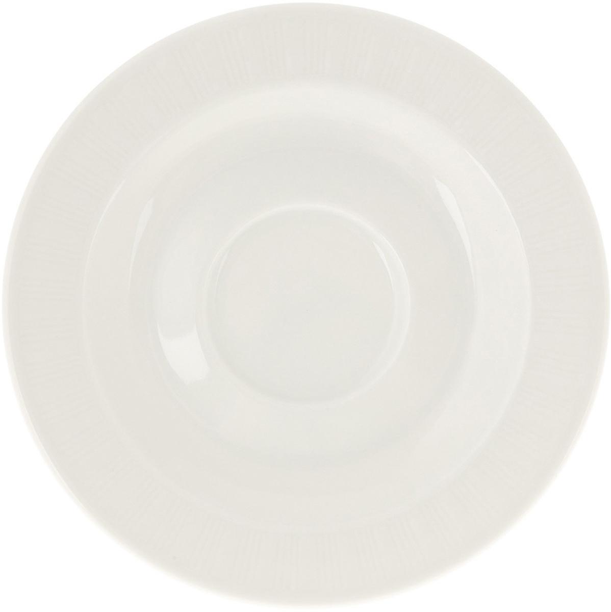 """Блюдце чайное """"Eschenbach"""", цвет: белый, диаметр 16 см"""