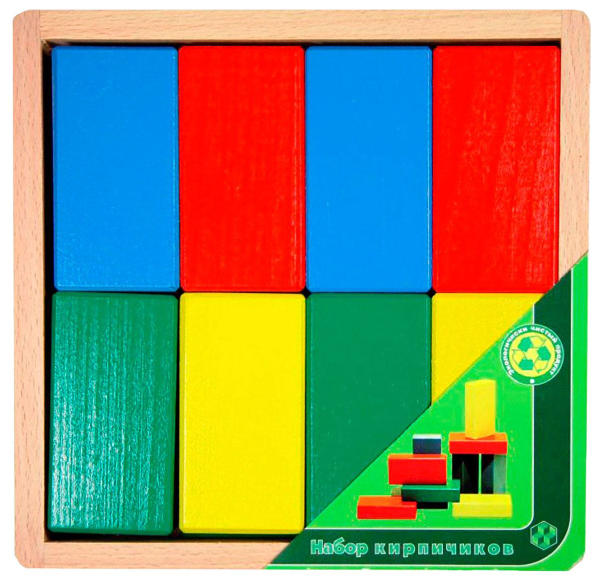 Престиж-Игрушка Кубики Кирпичики КРЦ2201КРЦ2201Поистине простые, и в то же время увлекательные Кирпичики станут любимой игрушкой для самых маленьких. С раннего детства необходимо развивать у малыша мелкую моторику пальцев ручек, воображение, логическое мышление. Из деревянных деталей кроха сможет построить незамысловатые конструкции и постройки. С кирпичиками интересно изучать цвета, сортируя их по разным кучкам или подбирая к каждому кубику игрушку соответствующего цвета. Пускай красная машинка заезжает в красный гараж, а лягушка поселится в зеленом домике.