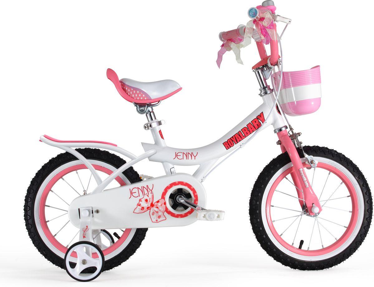Велосипед детский Royal Baby Jenny Girl 18, цвет: розовый