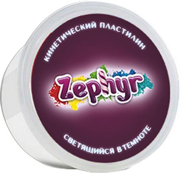 Zephyr Кинетический пластилин светящийся в темноте00-00000825Первый в мире кинетический пластилин Zephyr, который светится в темноте. Ребенок будет в восторге от игры с ним! Из него можно сделать фигуру и поставить как ночник рядом с детской кроваткой. Этот кинетический пластилин нельзя запекать.