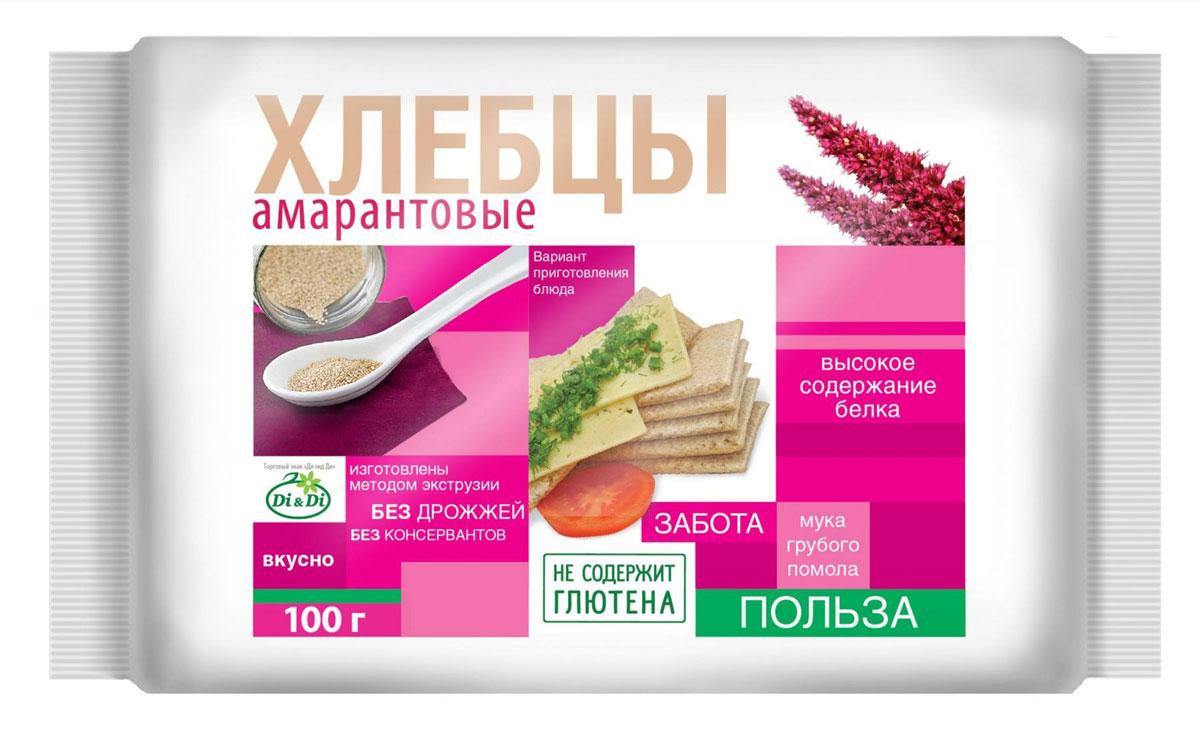 Di&Di хлебцы амарантовые 100 г цена