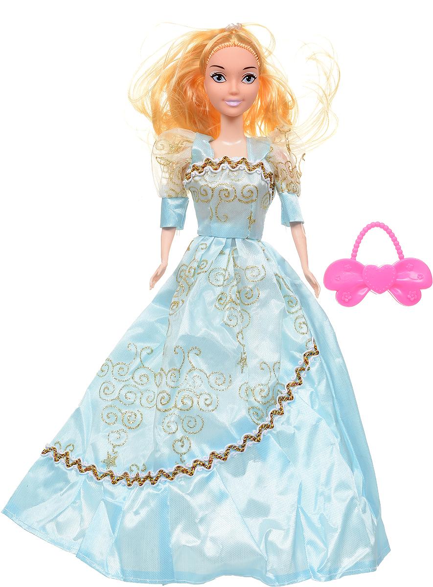 Veld-Co Кукла Benigh Girl цвет платья голубой