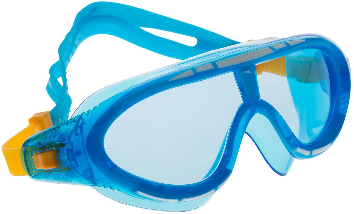 Очки для плавания детские Speedo, цвет: голубой. 8-012132255 ласты для тренировок speedo biofuse fin красный черный 11 12