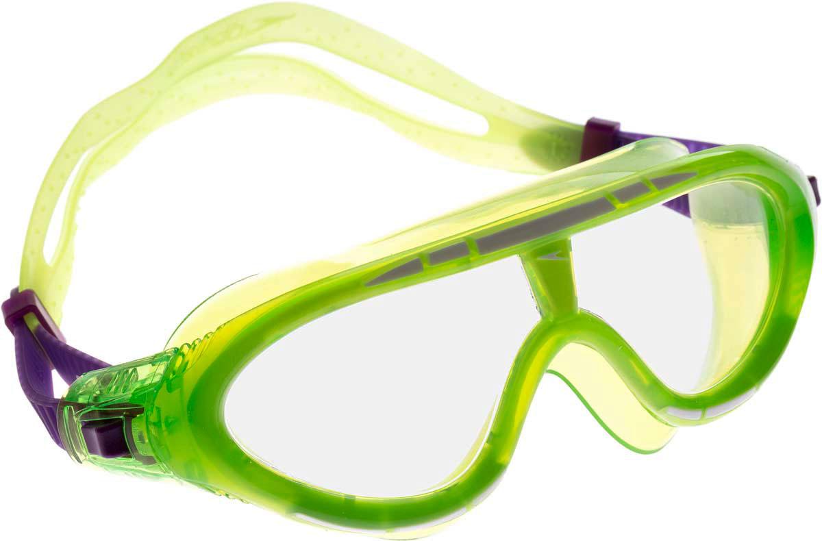 Очки для плавания детские Speedo, цвет: зеленый ласты для тренировок speedo biofuse fin красный черный 11 12