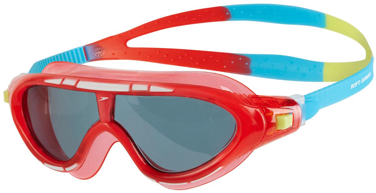 Очки для плавания детские Speedo, цвет: красный, голубой, дымчатый ласты для тренировок speedo biofuse fin красный черный 11 12